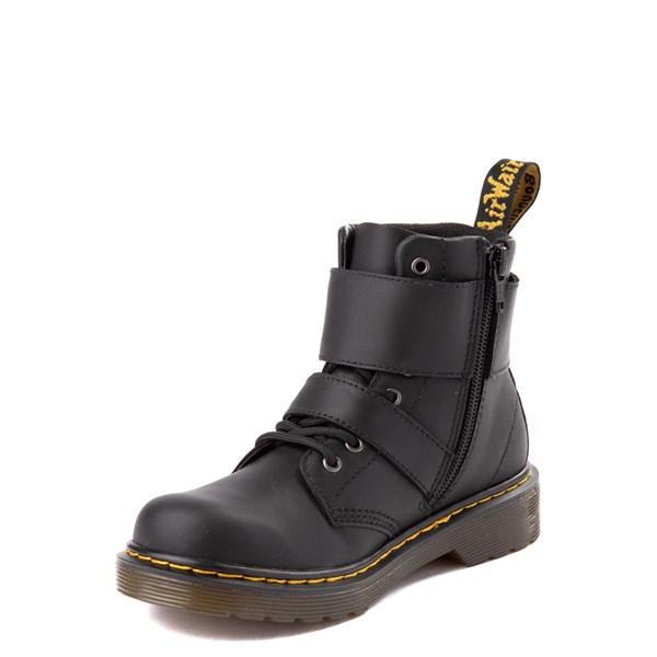 alternate view Dr. Martens 1460 8-Eye Joska Boot - Little Kid / Big Kid - BlackALT3