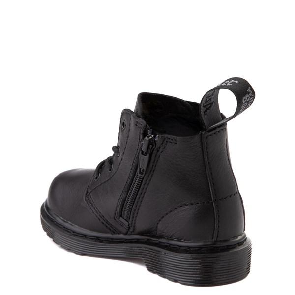 alternate view Dr. Martens 1460 Pascal 4-Eye Boot - Baby / Toddler - Black MonochromeALT2