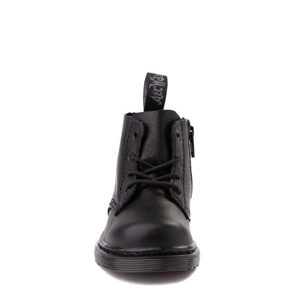 alternate view Dr. Martens 1460 Pascal 4-Eye Boot - Baby / Toddler - Black MonochromeALT4