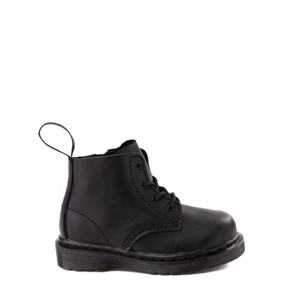 Main view of Dr. Martens 1460 Pascal 4-Eye Boot - Baby / Toddler - Black Monochrome