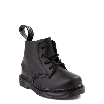Alternate view of Dr. Martens 1460 Pascal 4-Eye Boot - Baby / Toddler - Black Monochrome