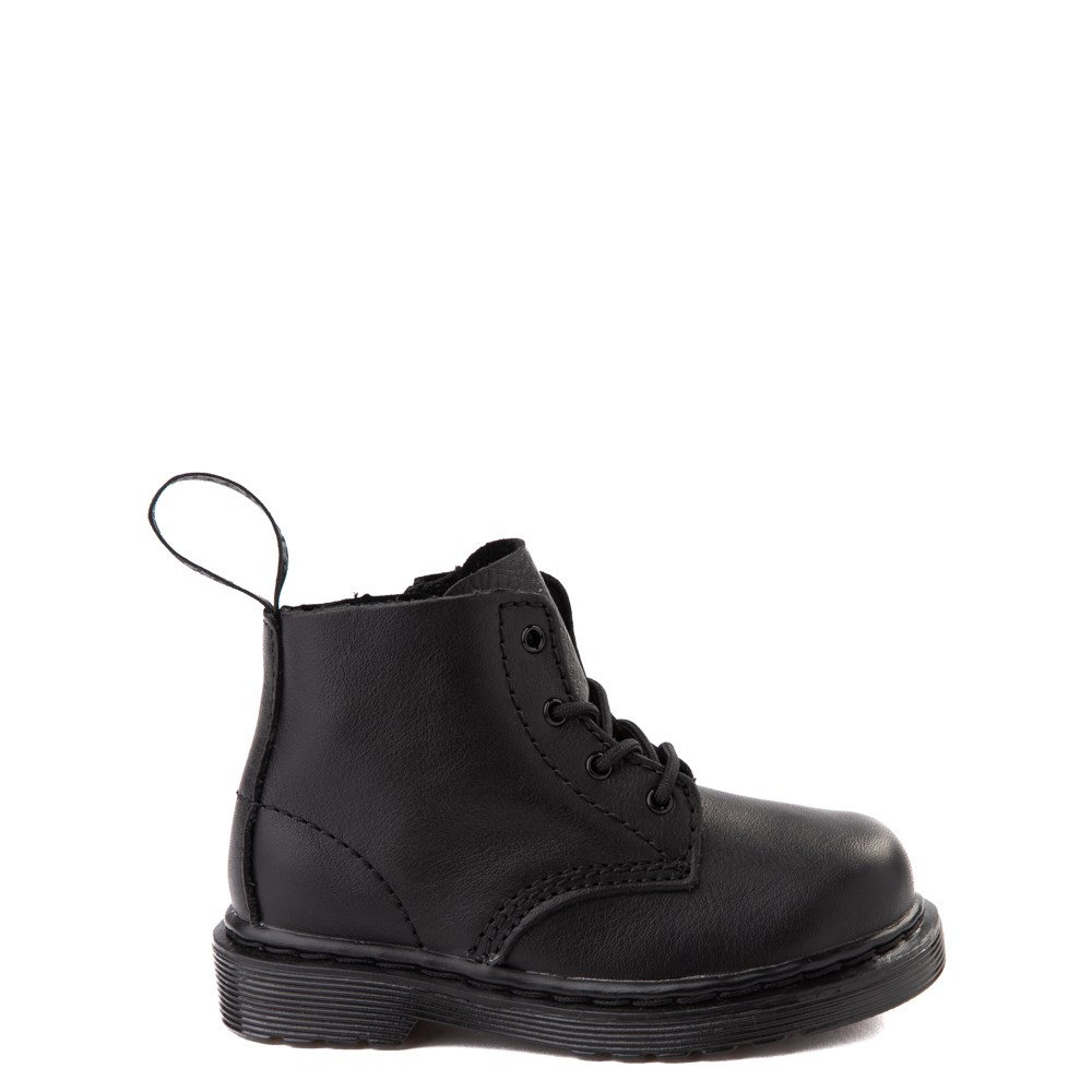 Dr. Martens 1460 Pascal 4-Eye Boot - Baby / Toddler - Black Monochrome