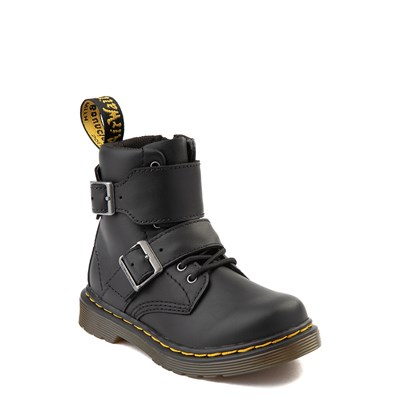 Alternate view of Dr. Martens 1460 8-Eye Joska Boot - Toddler - Black