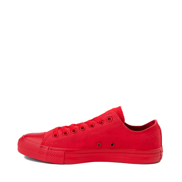 alternate view Converse Chuck Taylor All Star Lo Monochrome Sneaker - Casino RedALT1