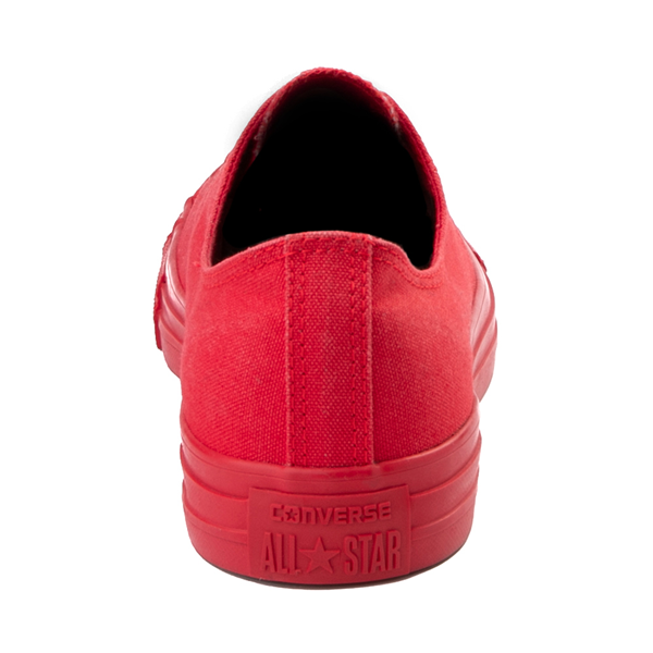 alternate view Converse Chuck Taylor All Star Lo Monochrome Sneaker - Casino RedALT4