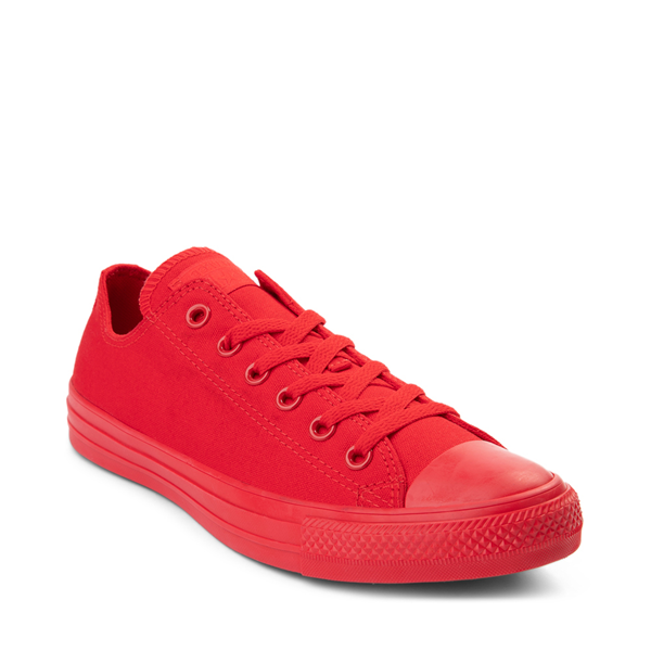 alternate view Converse Chuck Taylor All Star Lo Monochrome Sneaker - Casino RedALT5