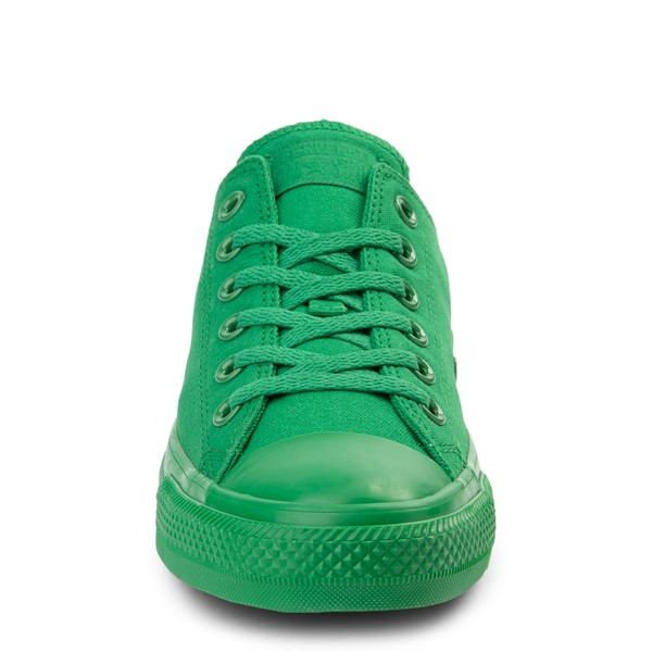 alternate view Converse Chuck Taylor All Star Lo Monochrome Sneaker - GreenALT4