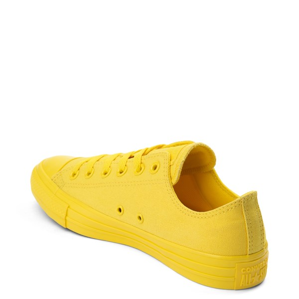 alternate view Converse Chuck Taylor All Star Lo Monochrome Sneaker - Aurora YellowALT2