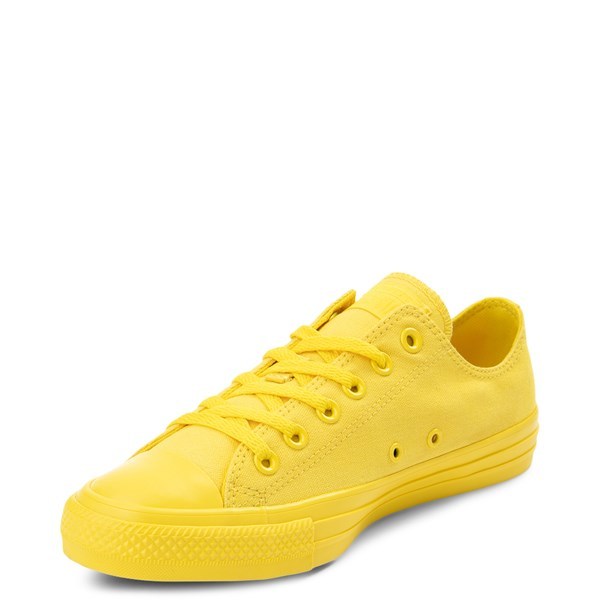 alternate view Converse Chuck Taylor All Star Lo Monochrome Sneaker - Aurora YellowALT3