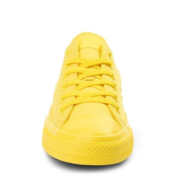 alternate view Converse Chuck Taylor All Star Lo Monochrome Sneaker - Aurora YellowALT4