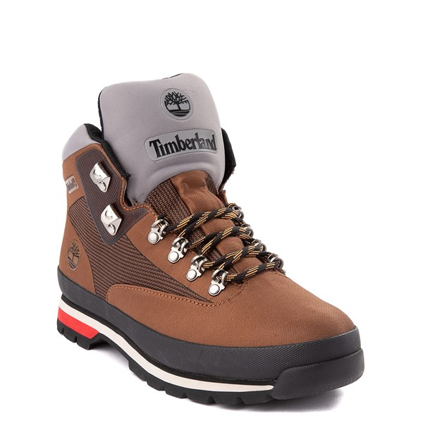 alternate view Mens Timberland Euro Hiker Jacquard Boot - TanALT1
