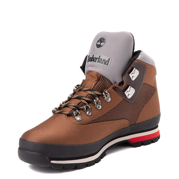 alternate view Mens Timberland Euro Hiker Jacquard Boot - TanALT3