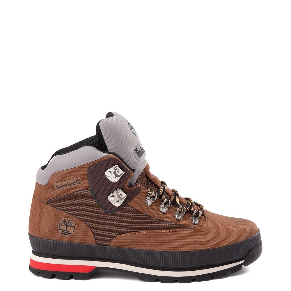 Mens Timberland Euro Hiker Jacquard Boot - Tan