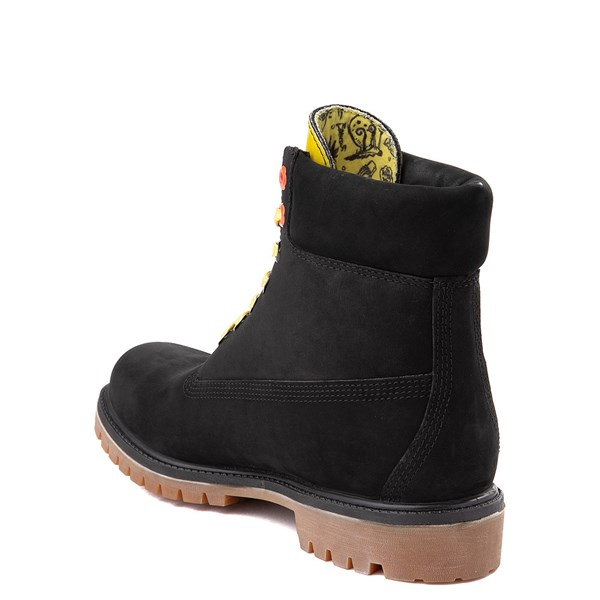 "alternate view Mens Timberland Spongebob Squarepants™ 6"" Classic Boot - BlackALT2"