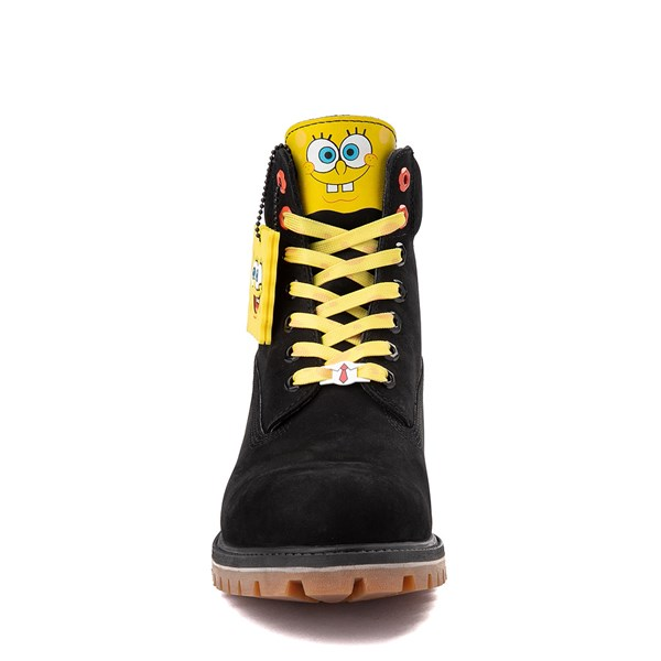 "alternate view Mens Timberland Spongebob Squarepants™ 6"" Classic Boot - BlackALT4"