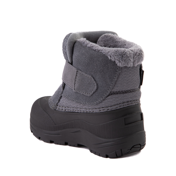 alternate view The North Face Alpenglow II Boot - Baby / Toddler - Zinc Gray / BlackALT1
