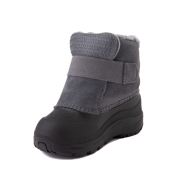 alternate view The North Face Alpenglow II Boot - Baby / Toddler - Zinc Gray / BlackALT2