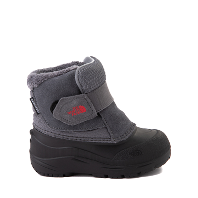 Main view of The North Face Alpenglow II Boot - Baby / Toddler - Zinc Gray / Black
