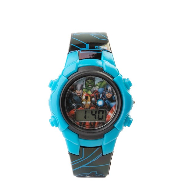 Main view of Marvel Avengers Watch - Blue
