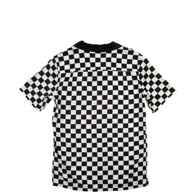 Alternate view of Vans Checkered Button Down Shirt - Little Kid