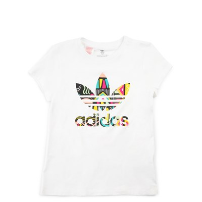 Main view of adidas Bel-Air Tee - Girls Little Kid