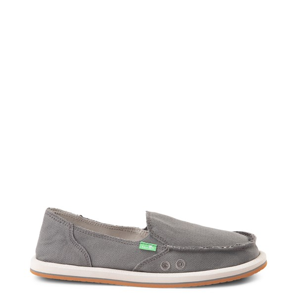 Womens Sanuk Donna Slip On Casual Shoe - Charcoal