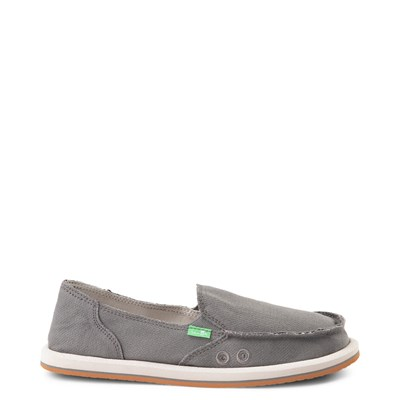 Main view of Womens Sanuk Donna Slip On Casual Shoe - Charcoal