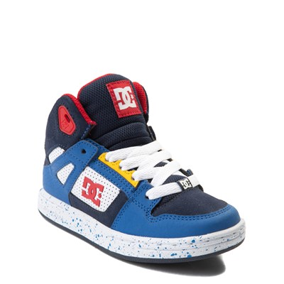 Alternate view of DC Pure Hi SE Skate Shoe - Little Kid / Big Kid