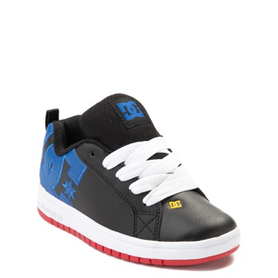 Alternate view of DC Court Graffik Skate Shoe - Little Kid / Big Kid