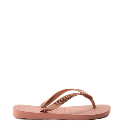 Alternate view of Womens Havaianas Top Tiras Sandal - Rose Gold