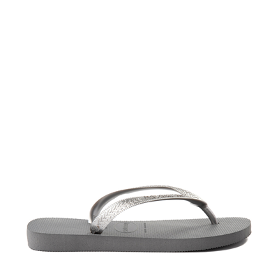 Alternate view of Womens Havaianas Top Tiras Sandal - Steel Gray