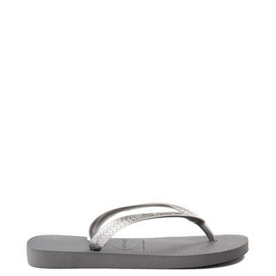 Alternate view of Womens Havaianas Top Tiras Sandal - Steel Gray