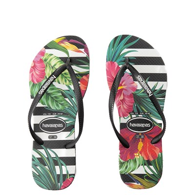 Main view of Womens Havaianas Slim Tropical Floral Sandal