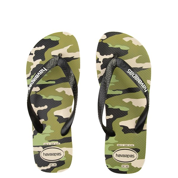 Main view of Mens Havaianas Top Sandal - Camo