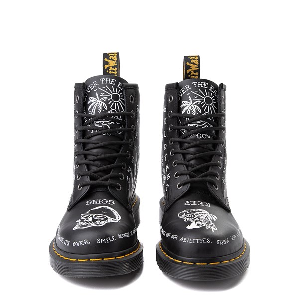 alternate view Dr. Martens 1460 8-Eye Scribble BootALT4
