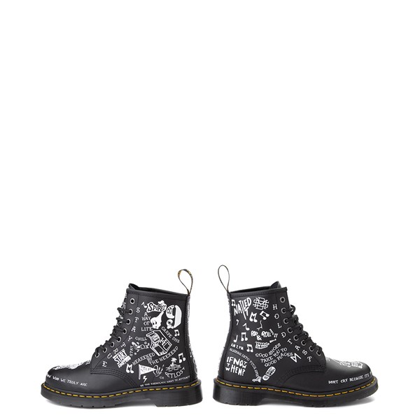 alternate view Dr. Martens 1460 8-Eye Scribble BootALT8
