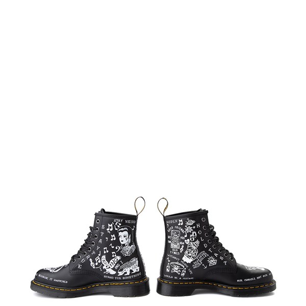 alternate view Dr. Martens 1460 8-Eye Scribble BootALT9