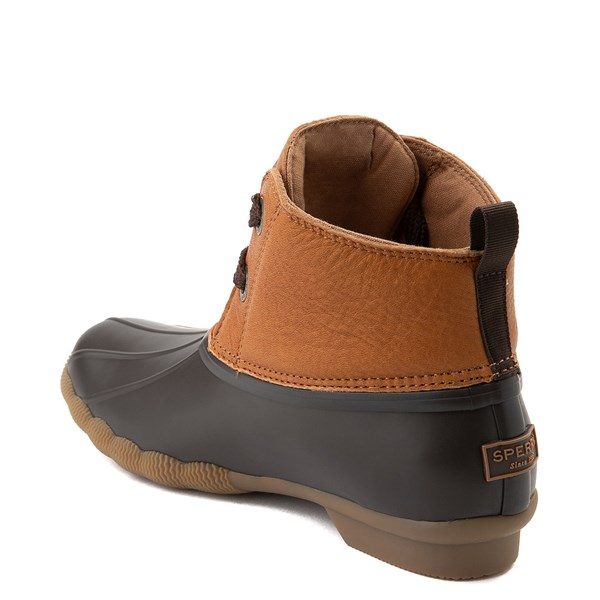 alternate view Womens Sperry Top-Sider Saltwater 2-Eye Boot - Tan / BrownALT2