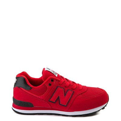 Main view of New Balance 574 Athletic Shoe - Little Kid - Red / Black