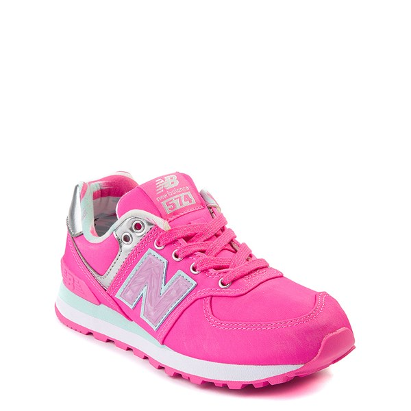 alternate view New Balance 574 Athletic Shoe - Little KidALT1