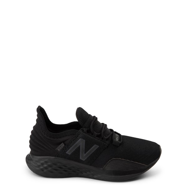 Main view of New Balance Fresh Foam Roav Athletic Shoe - Little Kid - Magnet Black
