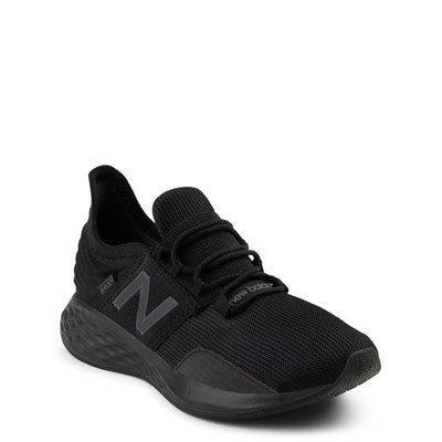 Alternate view of New Balance Fresh Foam Roav Athletic Shoe - Little Kid - Magnet Black