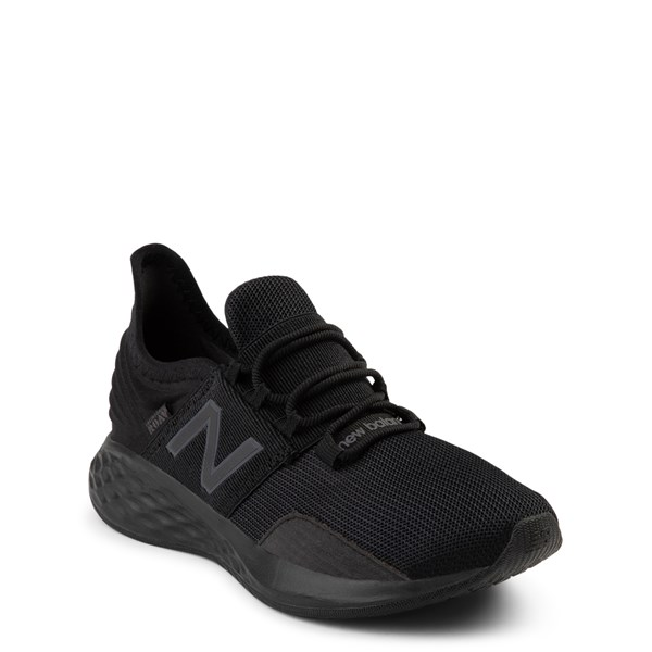 alternate view New Balance Fresh Foam Roav Athletic Shoe - Big Kid - Magnet BlackALT1
