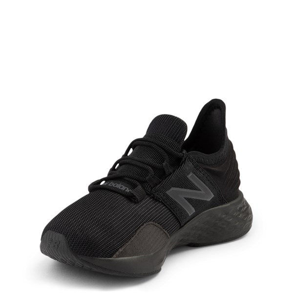alternate view New Balance Fresh Foam Roav Athletic Shoe - Big Kid - Magnet BlackALT3