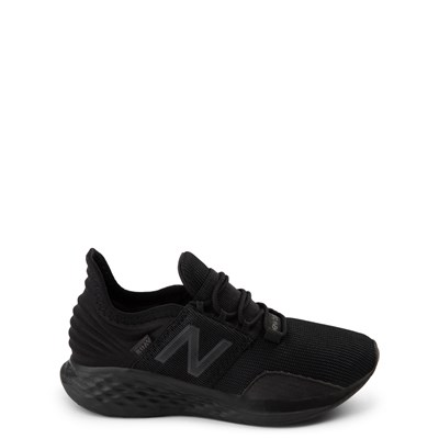 Main view of New Balance Fresh Foam Roav Athletic Shoe - Big Kid - Magnet Black