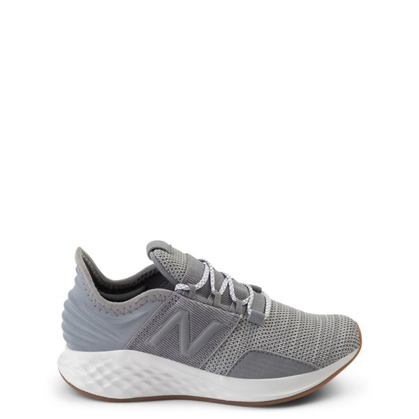 New Balance Fresh Foam Roav Athletic Shoe - Little Kid - Gray / White