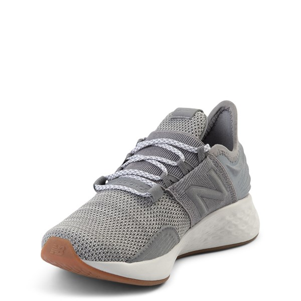 alternate view New Balance Fresh Foam Roav Athletic Shoe - Big Kid - Gray / WhiteALT3