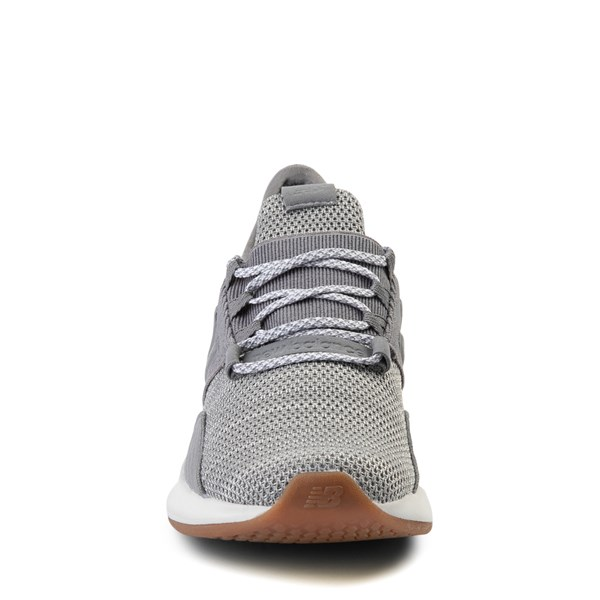 alternate view New Balance Fresh Foam Roav Athletic Shoe - Big Kid - Gray / WhiteALT4