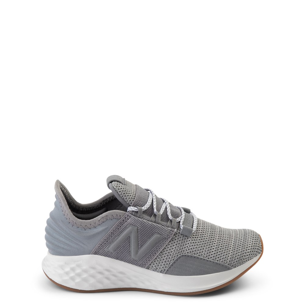 New Balance Fresh Foam Roav Athletic Shoe - Big Kid - Gray / White