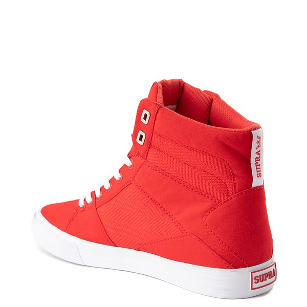 alternate view Mens Supra Aluminum Hi Skate ShoeALT2